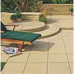 Buxton Buff Paving - Wickes