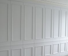 wainscoting full wall panels hidden storage - Google Search