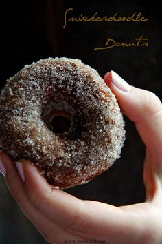 mellimille: Snickerdoodle Donuts