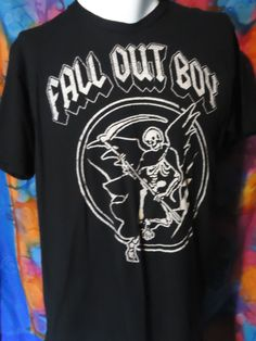 Fall Out Boy - Grim Reaper - Vintage - T-shirt - XL
