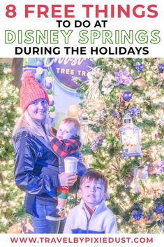 Experience the magic of Walt Disney World during the holiday season FOR FREE. Check out these 8 experiences happening at Disney Springs during the Christmas season! Disney On A Budget, Disney World Planning, Disney World Vacation, Disney Cruise Line, Disney World Resorts, Disney Vacations, Walt Disney World, Disney Parks, Disney World Tips And Tricks