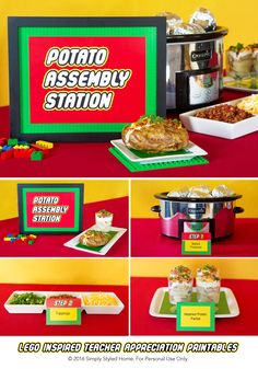 Office Potluck Invitation | Click to download and ...