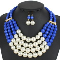 Colorful African Beads Jewelry Set For Women Wedding Bridal Bridesmaid Gift Jewellery Set Costume