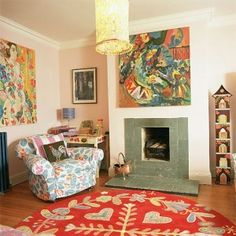 Love the rug, love it all.