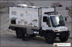 Unimog U500 4x4 Expedition Truck for sale