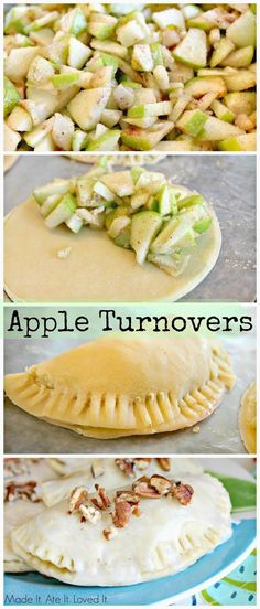 Made It. Ate It. Loved It.: Apple Turnovers.  Great Recipe for Kids