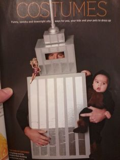 King Kong and Empire State Building costume!