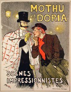 Theophile Steinlen, Mothu et Doria