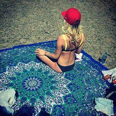 Hot New Indian Mandala Tapestry Hippie Home Decorative Wall Hanging Boho Beach Towel Yoga Mat Bedspread Table Cloth 210x148CM