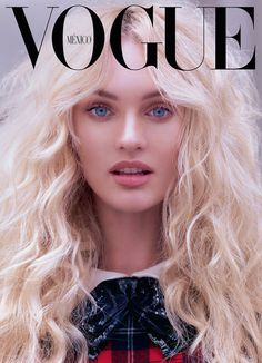 Candice Swanepoel - Vogue cover