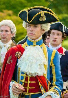 Outlander Season 2 King Louis XV / Lionel Lingelser