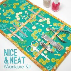 Manicure Kit Sewing Tutorial - Sew Some Stuff