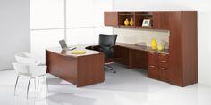 Office U-Shaped Desks | First Office - Pulse U-Shaped Desk