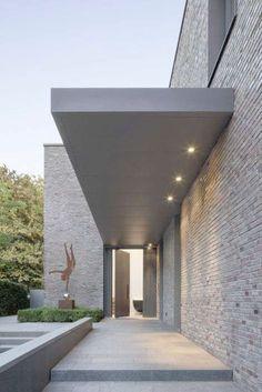 New Ideas House Exterior Brick Modern Architecture Modern Exterior, Exterior Design, Wall Exterior, Exterior Colors, Contemporary Architecture, Architecture Design, Modern Contemporary, Contemporary Chandelier, Farmhouse Contemporary