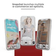 Great news! This platform is giving multiple options to advertisers for Christmas season through Shoppable Snap where they can now import brochures to create ads automatically. What do you think about this type of actions? Will you consider this options for your business?  #Snapchat #ShoppableSnap #ecommerce #business #socialmedia #socialmediaforbusiness #Anvixa #marketing #DigitalMarketing #socialmanagement #technology #design #studio #agency #international #lovewhatyoudo #pr #ppc #sem #seo… Technology Design, Brochures, Ecommerce, Snapchat, Seo, Digital Marketing, Advertising, Product Launch, Platform