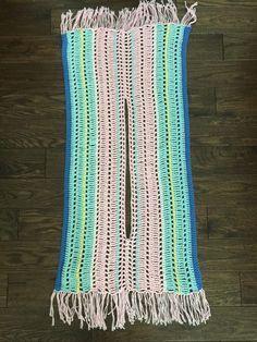Pastel Summer Poncho – Simple Things Crochet Knitting For BeginnersKnitting HatCrochet Hair StylesCrochet Ideas Cardigan Au Crochet, Gilet Crochet, Crochet Poncho Patterns, Crochet Shawl, Crochet Stitches, Knitting Patterns, Knit Crochet, Scarf Patterns, Dress Patterns