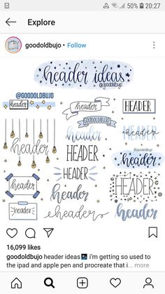 The ultimate collection of bullet journal header and title ideas for inspirat. Bullet Journal Headers, Bullet Journal Banner, Bullet Journal Aesthetic, Bullet Journal Notebook, Bullet Journal School, Bullet Journal Ideas Pages, Bullet Journal Inspo, Kunstjournal Inspiration, Journal Fonts