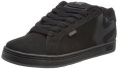 Etnies Mens Fader LS Shoes Footwear,Black Dirty Wash,11