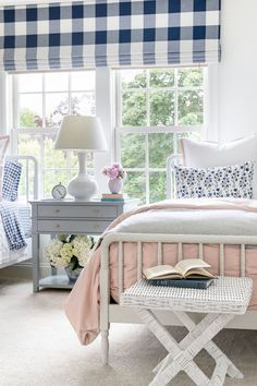 A Pretty and Preppy Girls Room Bench is Safavieh Home Collection Manor White Wicker Bench from Amazo Gorgeous Bedrooms, Girl Bedroom Designs, Bedroom Design, Chic Bedroom, Girls Bedroom, Bedroom Decor, Girl Room, Home Decor, Room Decor