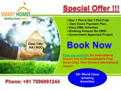 Plots are available for International Airport City in Dholera. #Dholera #DholeraSIR #DholeraSmartCity #Gujarat