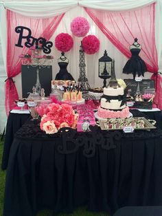 Paris Birthday Party Ideas | Photo 3 of 27 | Catch My Party