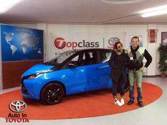 Complimenti ad Annalisa che ritira una nuova #Toyota #Aygo nella serie speciale X-Cite con vernice bicolor e cerchi in lega neri!