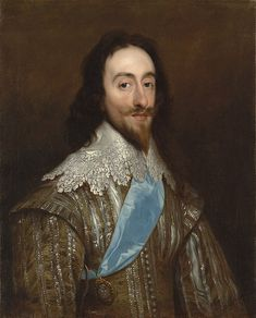 Charles I, King of England, son of James I, grandson of Mary, Queen of Scots