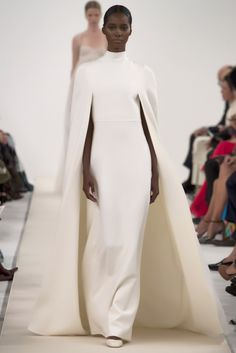"skaodi: ""Valentino Haute Couture Show in New York. This is a special collection designed to celebrate the opening of the new flagship store in Fifth Avenue. The all white looks are a reference to..."