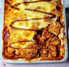 This is a delicious, lower-calorie, slimming friendly Hunters Chicken Pasta Bake that the whole family will love. Baked Chicken Pasta Recipes, Chicken Pasta Bake, Kitchen Recipes, Baking Recipes, Bacon Pasta Bake, Hunters Chicken, Slimming World Recipes Syn Free, Sw Meals, Bbq Bacon