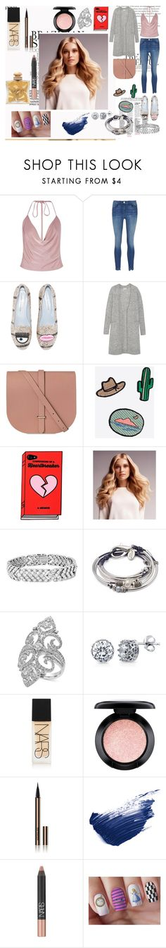 """""""Coming."""" by it-srabina ❤ liked on Polyvore featuring Boohoo, Acne Studios, The Cambridge Satchel Company, Madewell, BaByliss, Lizzy James, Effy Jewelry, BERRICLE, NARS Cosmetics and MAC Cosmetics"""
