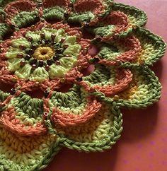 Mandala for Yarndale 2014 by Sabina Poonwassies