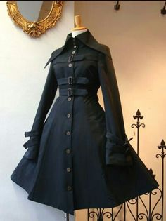 Vintage style Loooooo e thiss,! Pretty Outfits, Pretty Dresses, Cool Outfits, Kleidung Design, Mode Lolita, Gothic Lolita Fashion, Fantasy Dress, Kawaii Clothes, Dark Fashion
