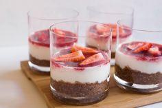 Receita de Cheesecake #recipe #cheesecake #strawberry