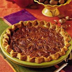 I think this is the one for David's Mom! She loves Southern Living magazine and has given me awesome family recipes that originated from there years ago.   Mom's Pecan Pie Recipe/Southern Living - Great Christmas dessert :) That's all I can say!  Loved it!!!