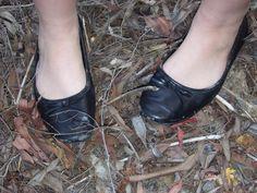 Well-loved shoes by RachelRibcage on DeviantArt Ballet Dancers, Ballet Flats, Better Love, Sexy Feet, Clogs, Wellness, Deviantart, Outfit, Board