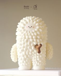 Earlier this month we announced that the adorable Treeson and Ren By Bubi Au Yeung will be revamped and produced by the guys over at Fluffy House. This glorious Monday sees the announcement from Bubi Au Yeung Vinyl Toys, Vinyl Art, 3d Character, Character Concept, Simple Character, Design 3d, 3d Figures, Modelos 3d, Mascot Design