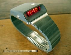 Girard Perregaux Casquette 1970s digital LED watch.