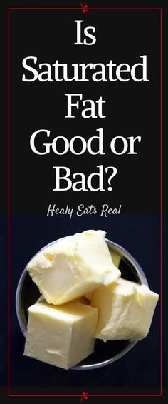 Is Saturated Fat Good or Bad? Is Saturated Fat Good or Bad? - It seems we've been taught for so long that fat is bad and contributes to weight gain, but is that really the truth? Nutrition Tips, Health And Nutrition, Women's Health, High Fat Foods, Easy Weight Loss Tips, Foods With Gluten, Food Facts, Health Articles, Saturated Fat