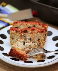 {Tangy Turkey Meatloaf}