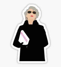 """Miranda Priestly- The Devil Wears Prada"" Stickers by thefilmartist Bubble Stickers, Meme Stickers, Phone Stickers, Cool Stickers, Printable Stickers, Planner Stickers, Miranda Priestly, Devil Wears Prada, Collage"
