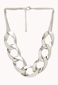 Curb Link Chain Necklace | FOREVER21 - 1038928730
