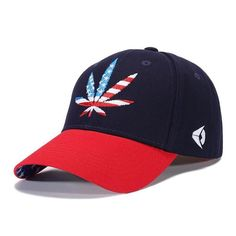 3D Embroidered Leaf Snapback Hats Embroidered Leaves f2a3d09a717