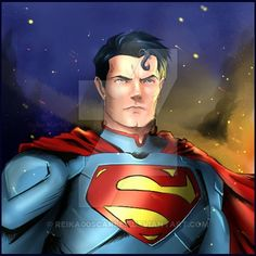 Another Symbolic Character this time from DC , The Man of Steel, Superman One of the few reasons why I got hooked more into comics. He has strong sense . Man Of Steel Superman Man Of Steel, Marvel Dc, The Man, Iron Man, Wonder Woman, Deviantart, Superhero, Comics, Artist