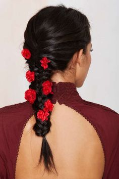 Rock 'N Rose Franny Bloom Hair Pin Set