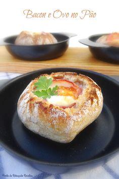 Bancon e Ovo no Pão