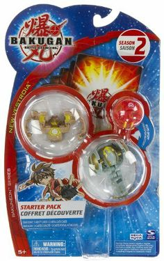 "Bakugan Series Bakugan Battle Brawlers Season 2 New Vestroia Starter Pack - "" NOT Randomly Picked"", Sold As Shown In The Picture! (C424P) by Spin Master. $26.99. For age 5 and up. ""NOT"" randomly picked, you are getting what is shown in the picture.. Starter pack includes: 3 Bakugan, 3 ability cards, and 3 metal gate cards. Bakugan Battle Brawlers Series Starter Pack. Warning! Risk of serious digestive injuries in the event that magnets are swallowed!. New Bakugan, ne..."