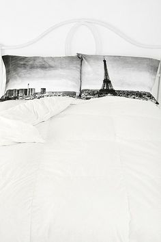 Paris Panorama Pillowcase - Set Of 2