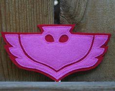 Owlette traje Owlette PJ máscaras alas máscara y vestido de