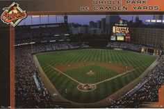 Baltimore Orioles Camden Yards Stadium Poster 22x34 – BananaRoad