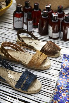 Plein Soleil chez Merci - Ball Pages sandals